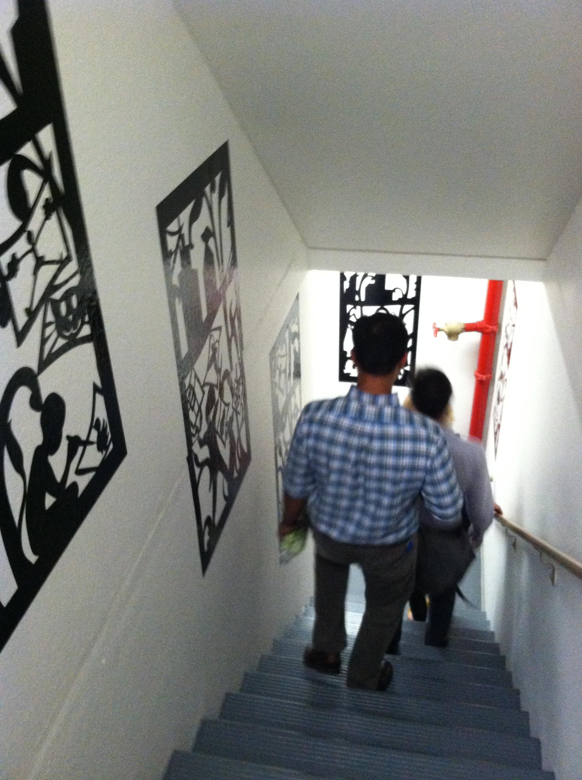 Arbor House_Stair with art.jpg