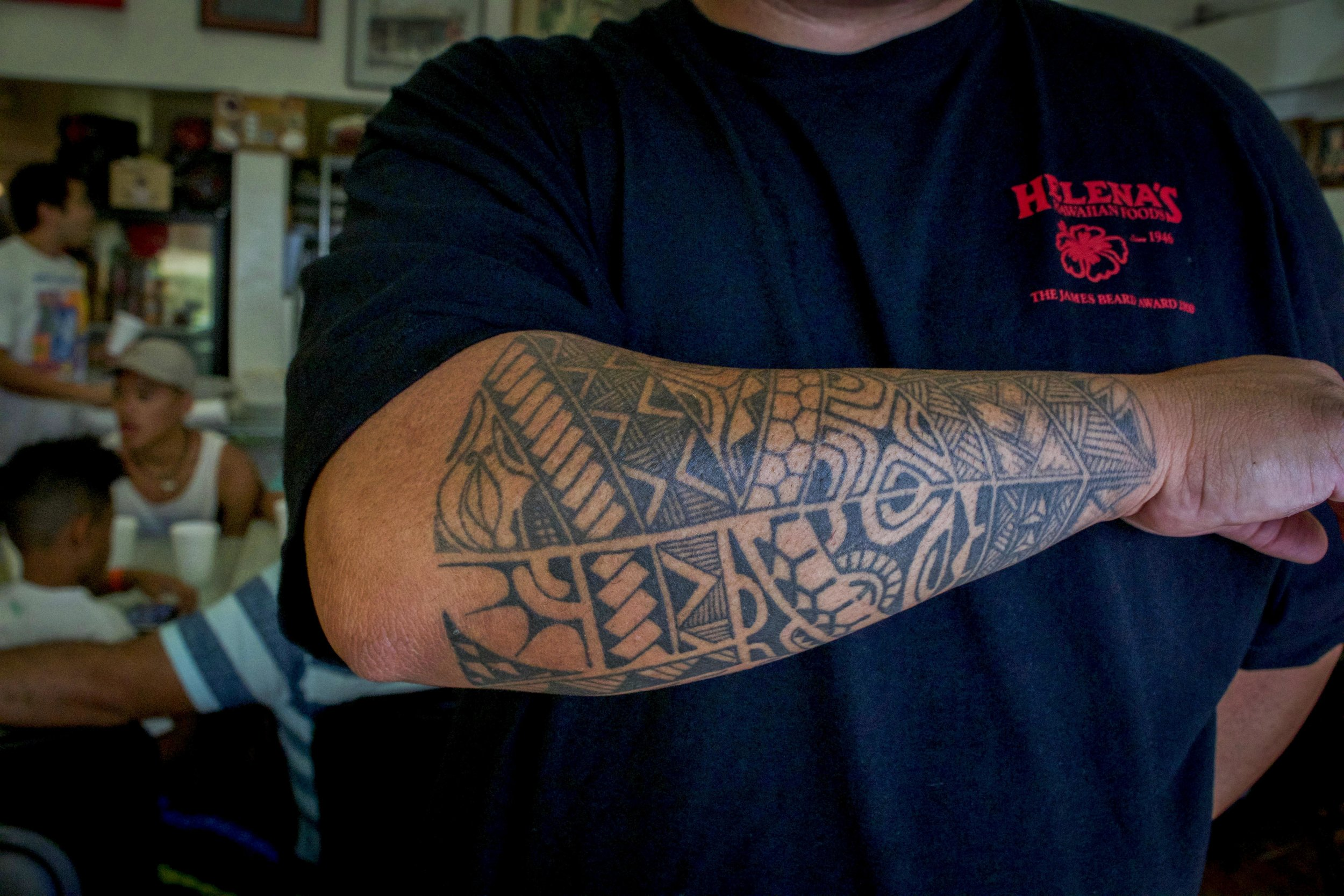 Polynesian art is still prevalent in Oahu, and nowhere is it more visible than the tattoo scene.