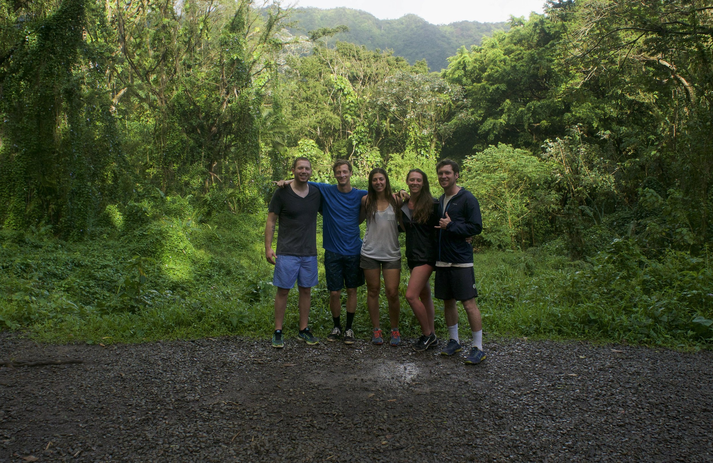 The Oahu 2016 crew. Well, we're here.