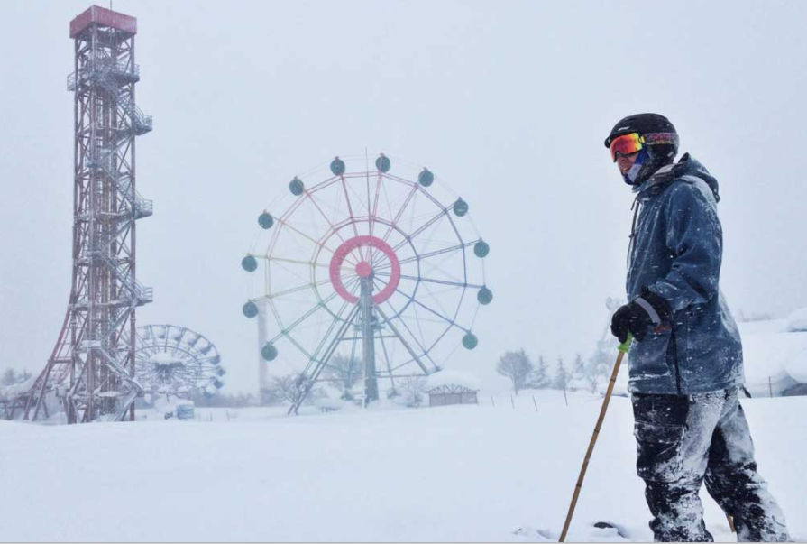 Ski paradise or amusement capital? Hokkaido struggles to make up its mind.Thanks to Eric Dyer for the photo.
