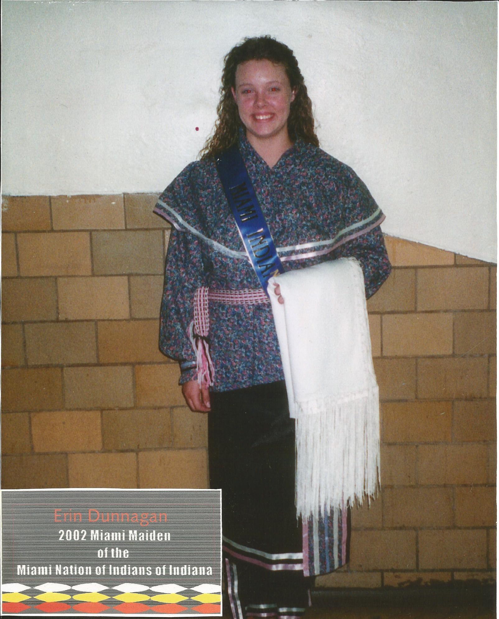 Miss Erin Dunnagan - Miss Miami Maiden 2002