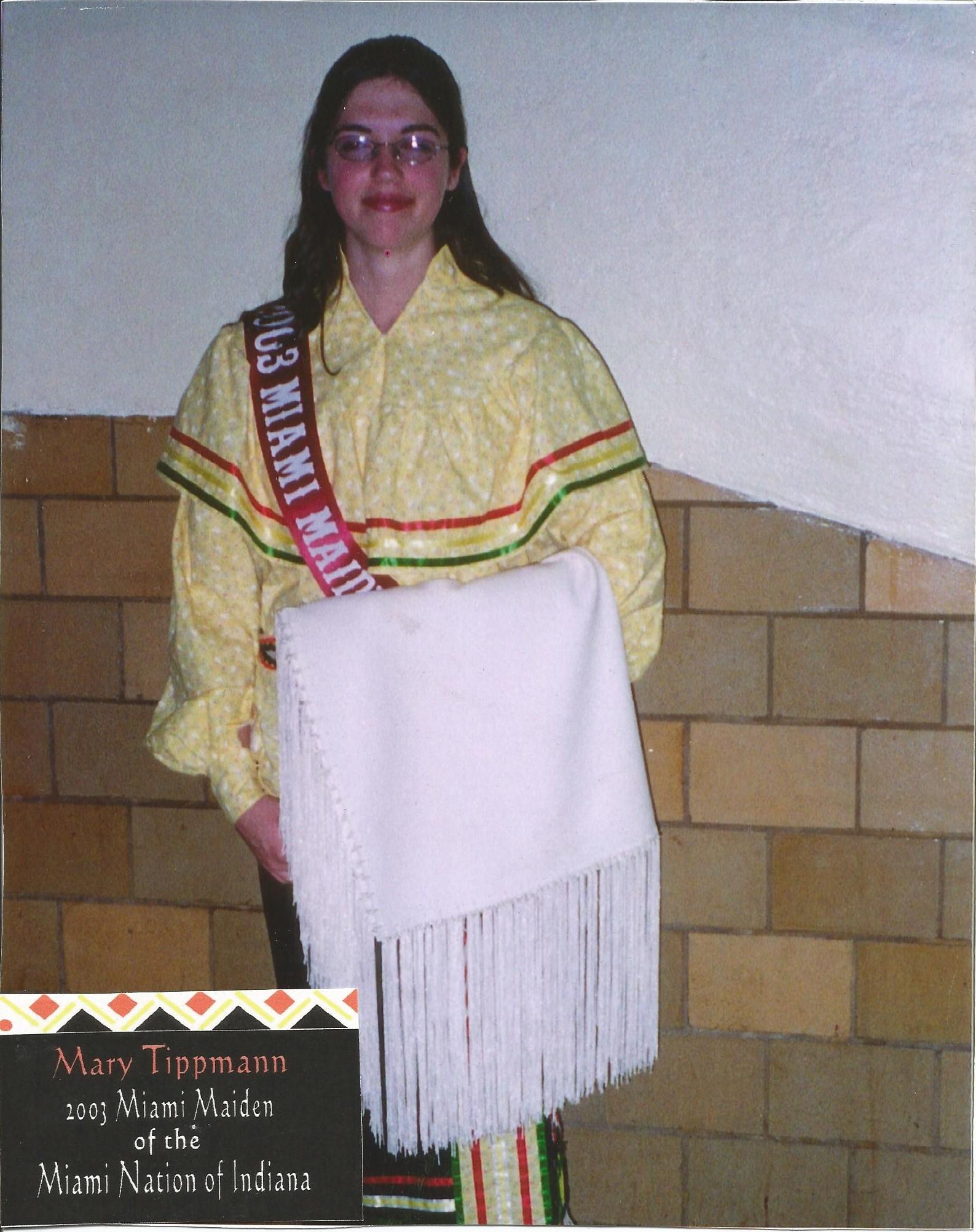 Miss Mary Tippman - Miss Miami Maiden 2003