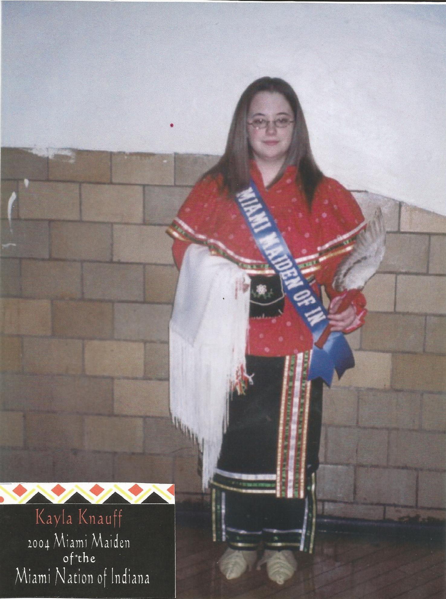 Miss Kayla Knauff - Miss Miami Maiden 2004