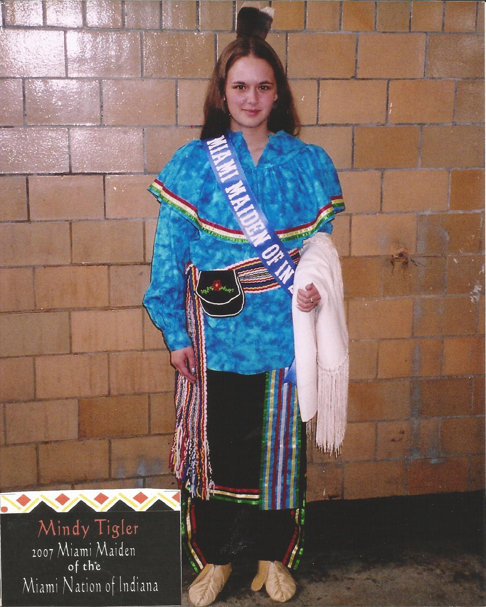 Miss Mindy Tigler - Miss Miami Maiden 2007