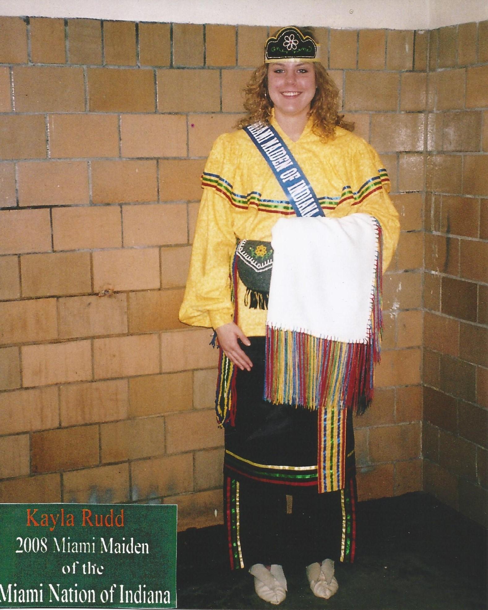 Miss Kayle Rudd - Miss Miami Maiden 2008