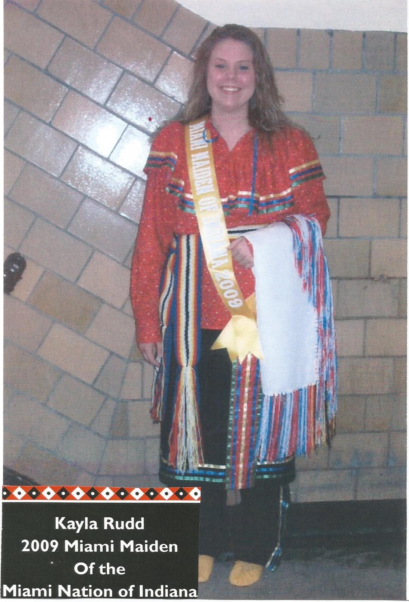 Miss Kayle Rudd - Miss Miami Maiden 2009