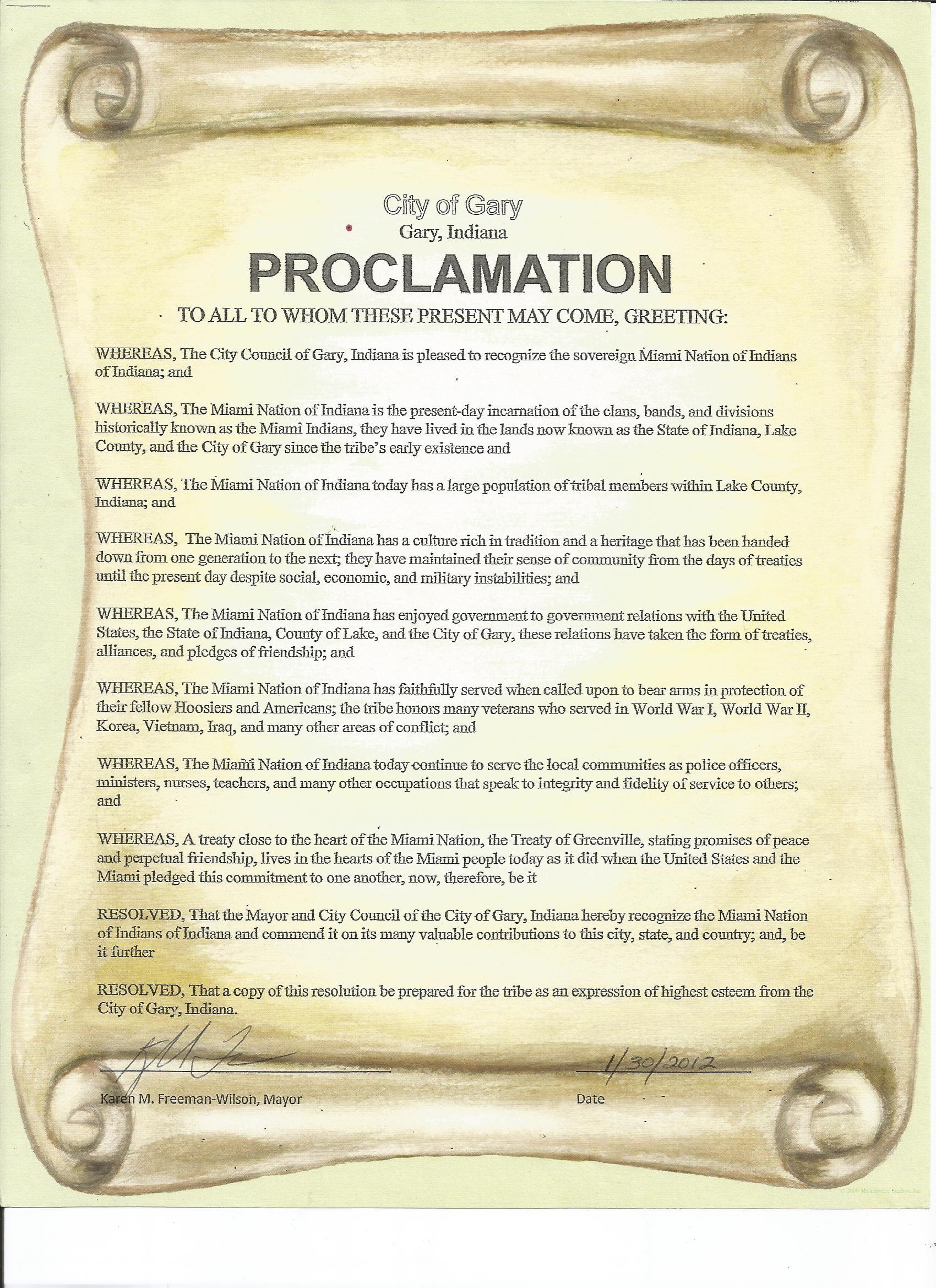 Proclamation City of Gary.jpg