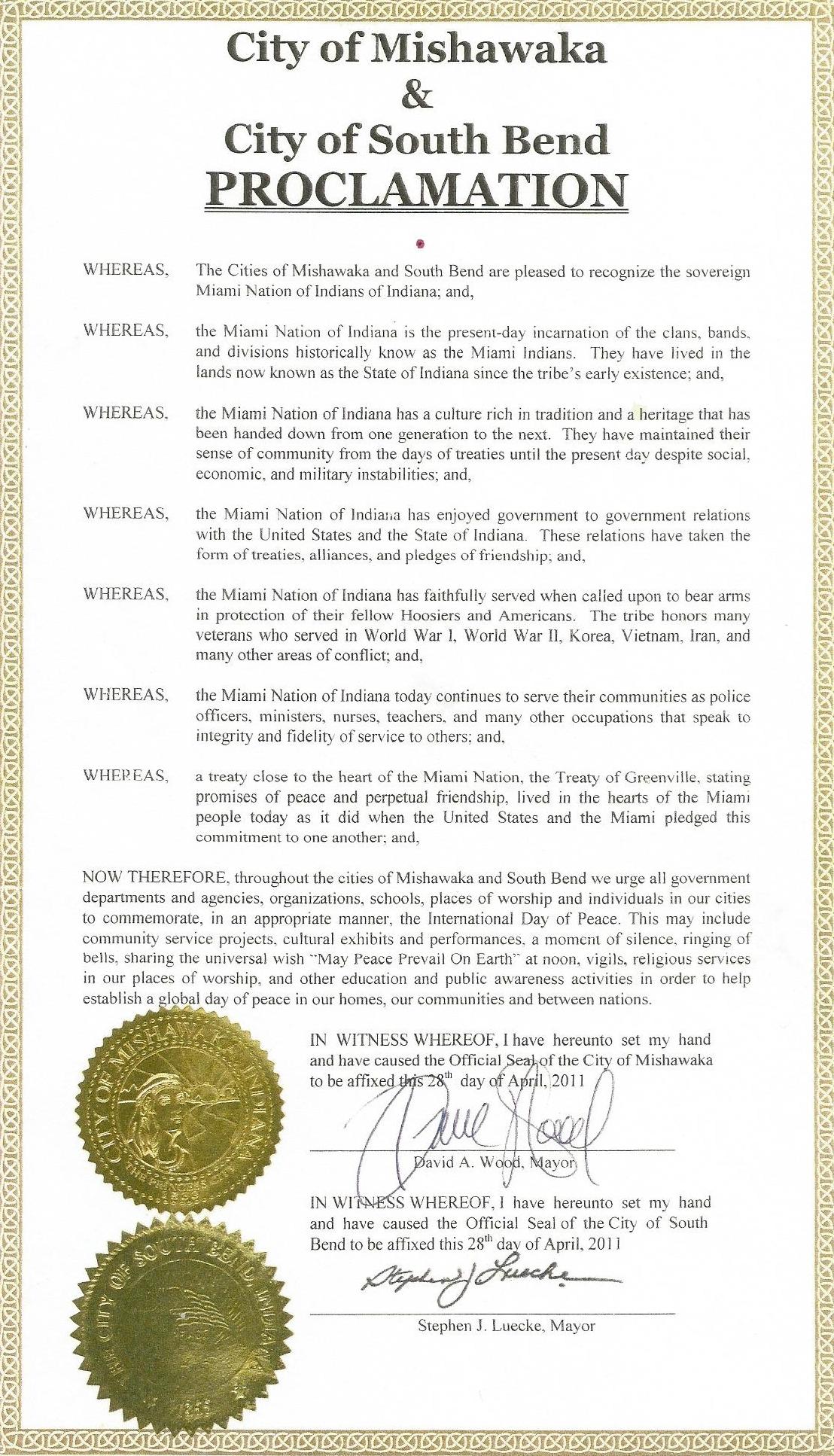Proclamation City of Mishawaka & City of South Bend.jpg
