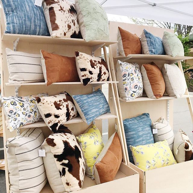 Come see me and other great vendors @rockbrookvillage today!! Shopping from 10am-5pm 🛍 . . . . #denimpillow #throwpillows #decorlove #shopsmall #thesablefox #nebraskagram #throwpillowcover #midwestisbest #omahaevents #softpillows #livecolorfully #hygge #rockbrookvillage #pillowlove #smallbiz #pillowlover #interiordesign #lumbarpillow #smallbusiness #thatsdarling #throwpillowsfordays #foryourhome #machinewashable #interiorinspo #homesweethome #etsyshop #etsyseller #rockbrookvillagecraftfair #decorcrushing #cowhidepillow