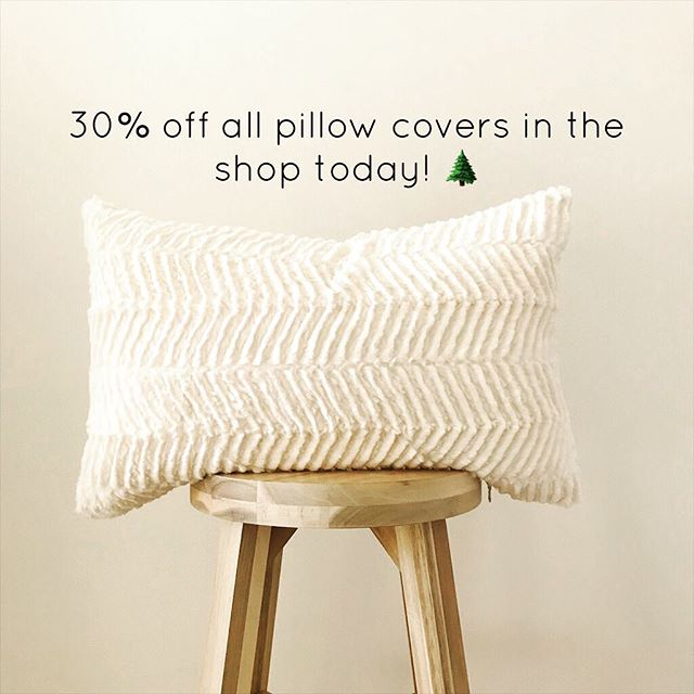 Happy Small Business Saturday!! Enjoy 30% off all pillow covers in the shop today!! 🌲 . . . #interiorinspo #throwpillowcover #nebraskagram #midwestisbest #interiordesign #hygge #usapillow #etsyseller #pillowlover #pillowlove #machinewashable #throwpillowsfordays #throwpillows #thesablefox #smallbiz #softpillows #decorlove #smallbusiness #shopsmall #etsyshopsale #christmastime #tistheseason #smallbusinesssale #smallbusinesssaturdaysale #christmasgifting