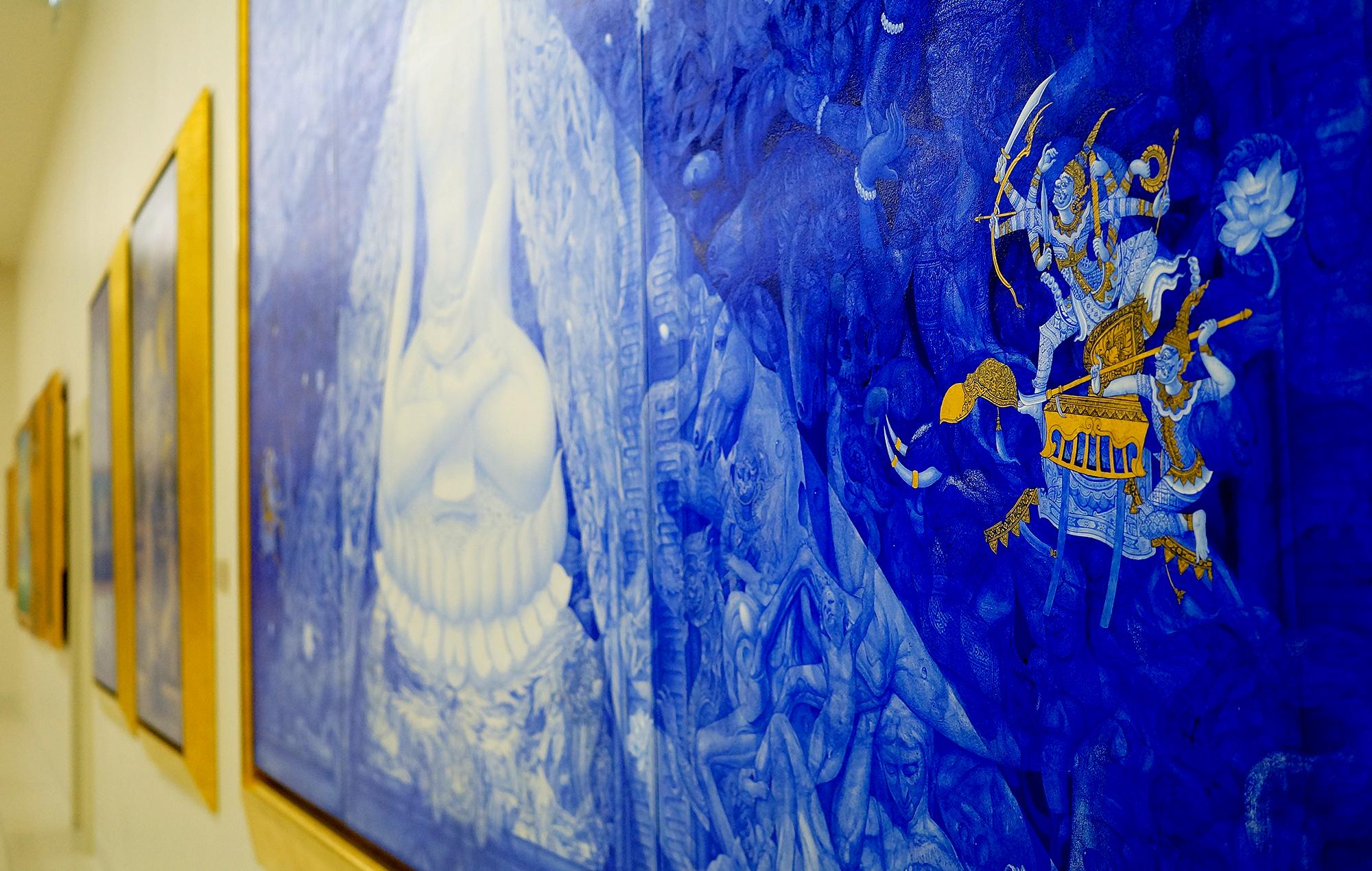 """Buddha's Enlightenment 2011"" by Thongchai Srisukprasert"
