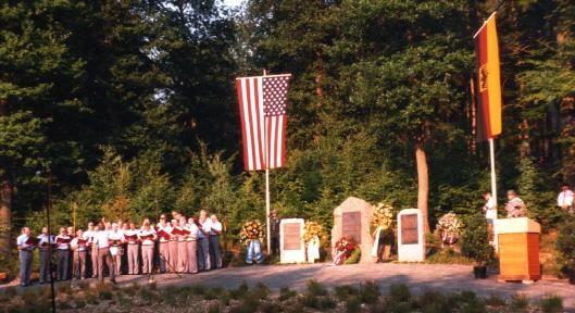1990 Memorial Dedication ceremony