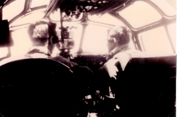 Edward F. Hautman, pilot, and Carroll G. Snidow, copilot
