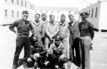 Back row, left to right: Hautman; Waldron; Maupin; Tarbert; Howe; Land; Jones  Front row, left to right: Friese; Snidow
