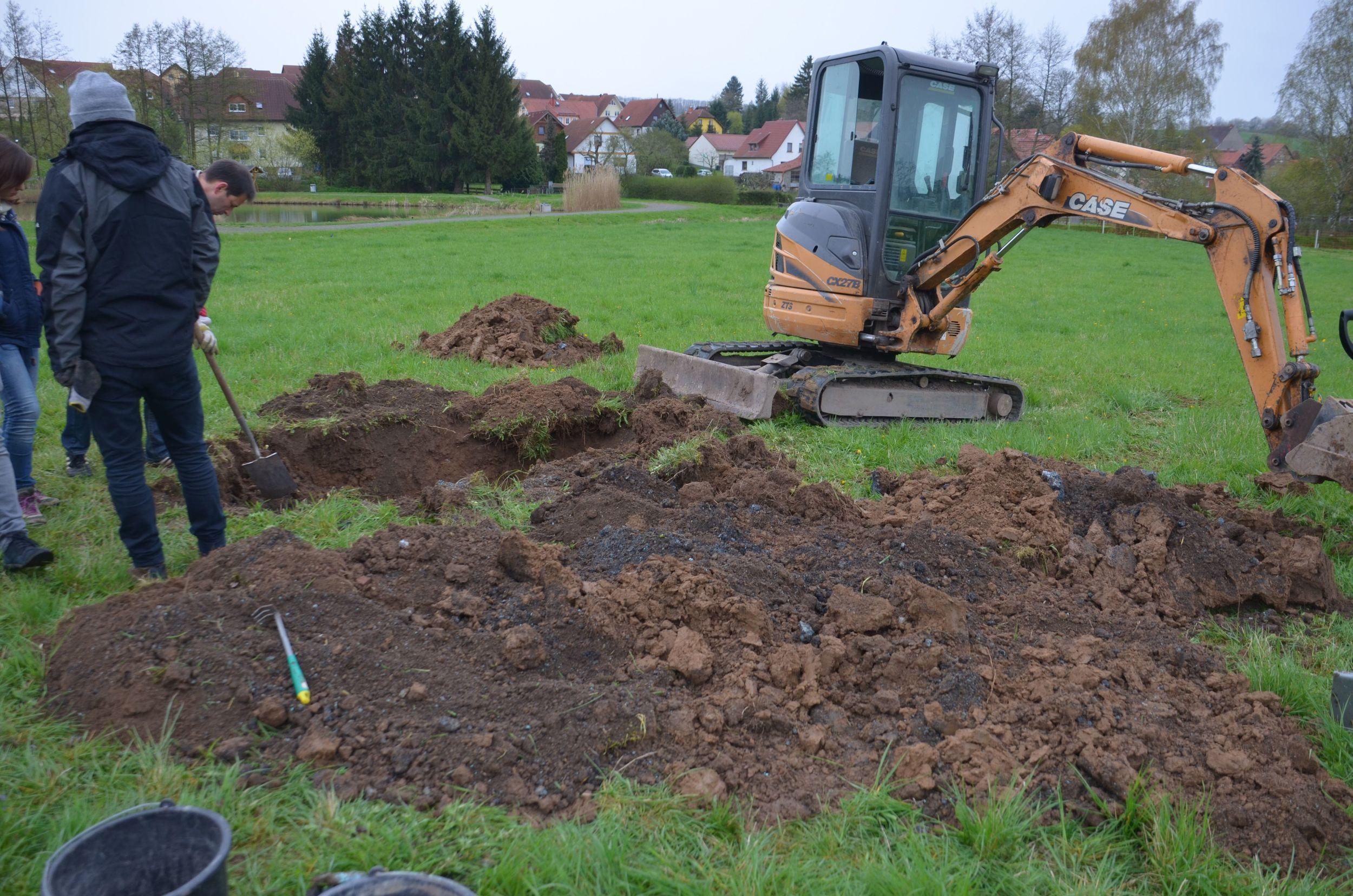 Bolin excavator