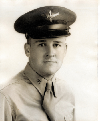 Maynard L. Jones as an aviation cadet