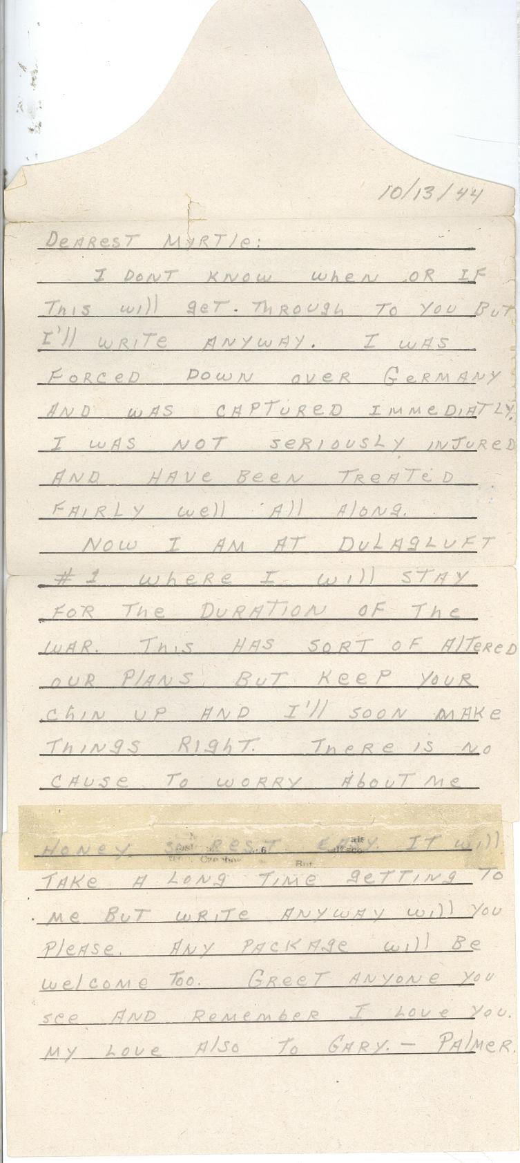 Letter 10-13-44