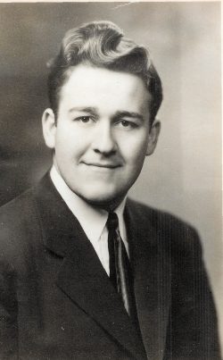 Maynard L. Jones, high school graduation picture