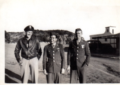Jim Baynham, left, Ray Lemons, center, Howard Boldt, deceased, right.