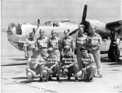 Swofford Crew, Willard Dykes 3rd from left in rear row