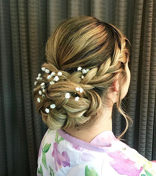 Another breathtaking updo by our Bloom and Blush hairstylist Lindsey!