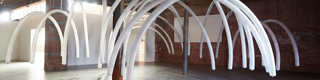 Chico MacMurtrie,   Organic Arches II (vaulted)  , 2014