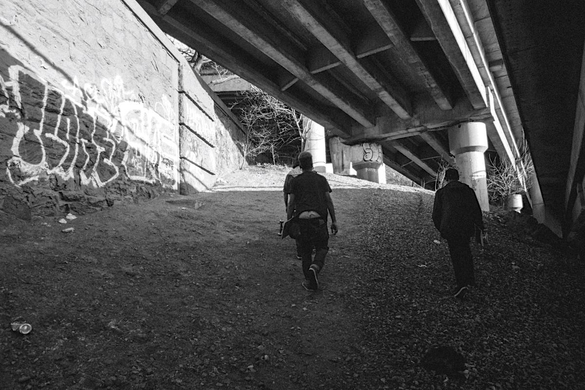 Urban hiking