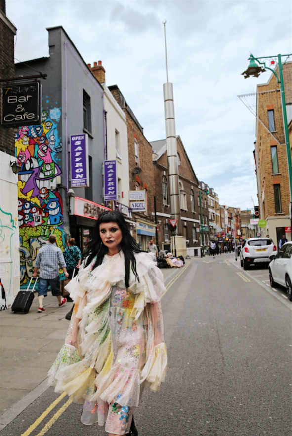 Princess Julia, Cultural Correspondent, Editor, Model & DJ Copyright Maryam Eisler & Transglobe