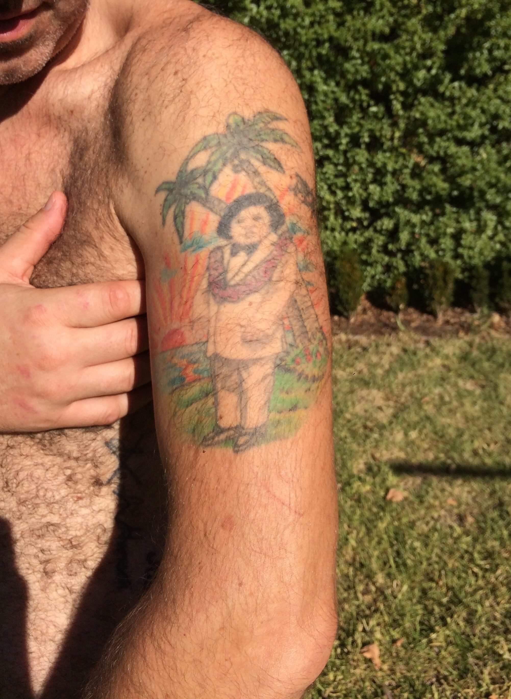 Frank's tattoo of Tattoo
