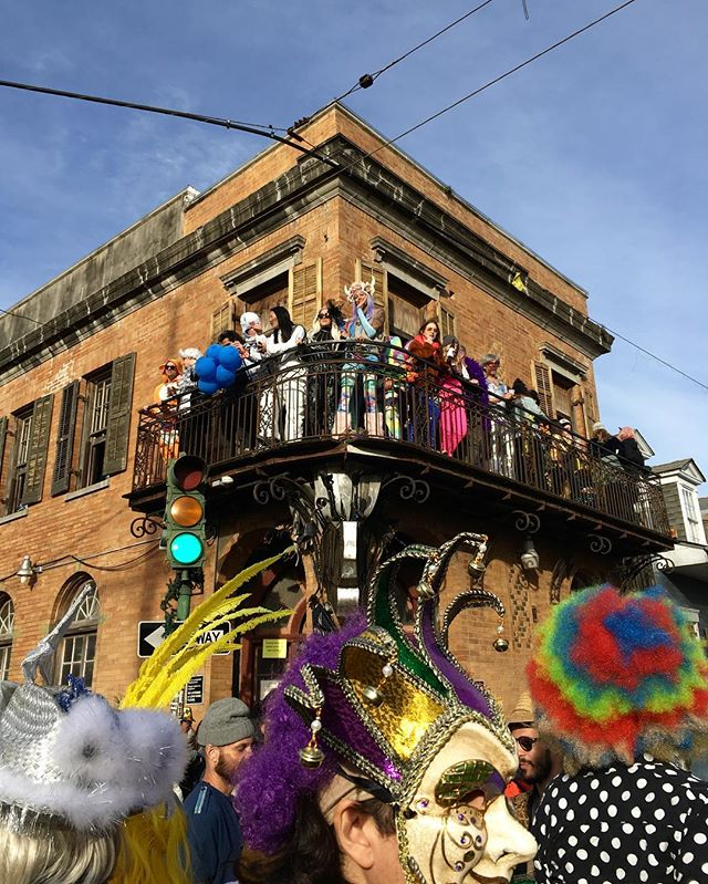 Yesterday was perfect in every way. I think every city should have something like this as a method of therapy. #mardigras2019