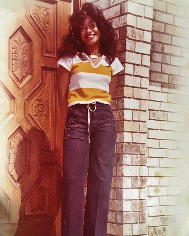 My forever style inspo. She got it from her momma & I got it from her. Look at them chains glistenin'. 📸 @eugenecoates @oldschoolmoms (photo taken before she devoted her life to raising three kids. Bless you mom! We are eternally grateful!)