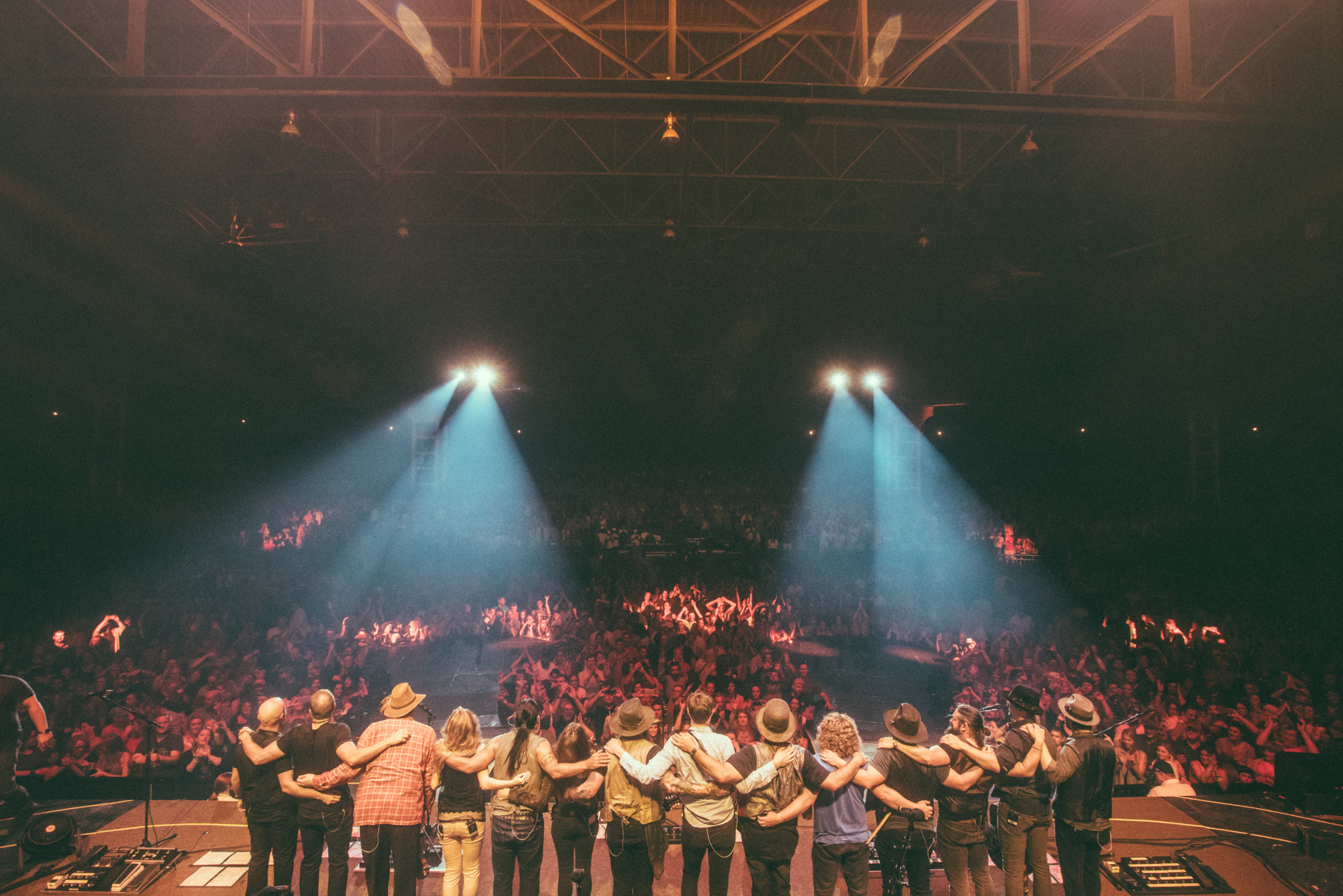 """Zac Brown Band and O'Connor Band  """"Welcome Home"""" Tour  Photo by Southern Reel"""