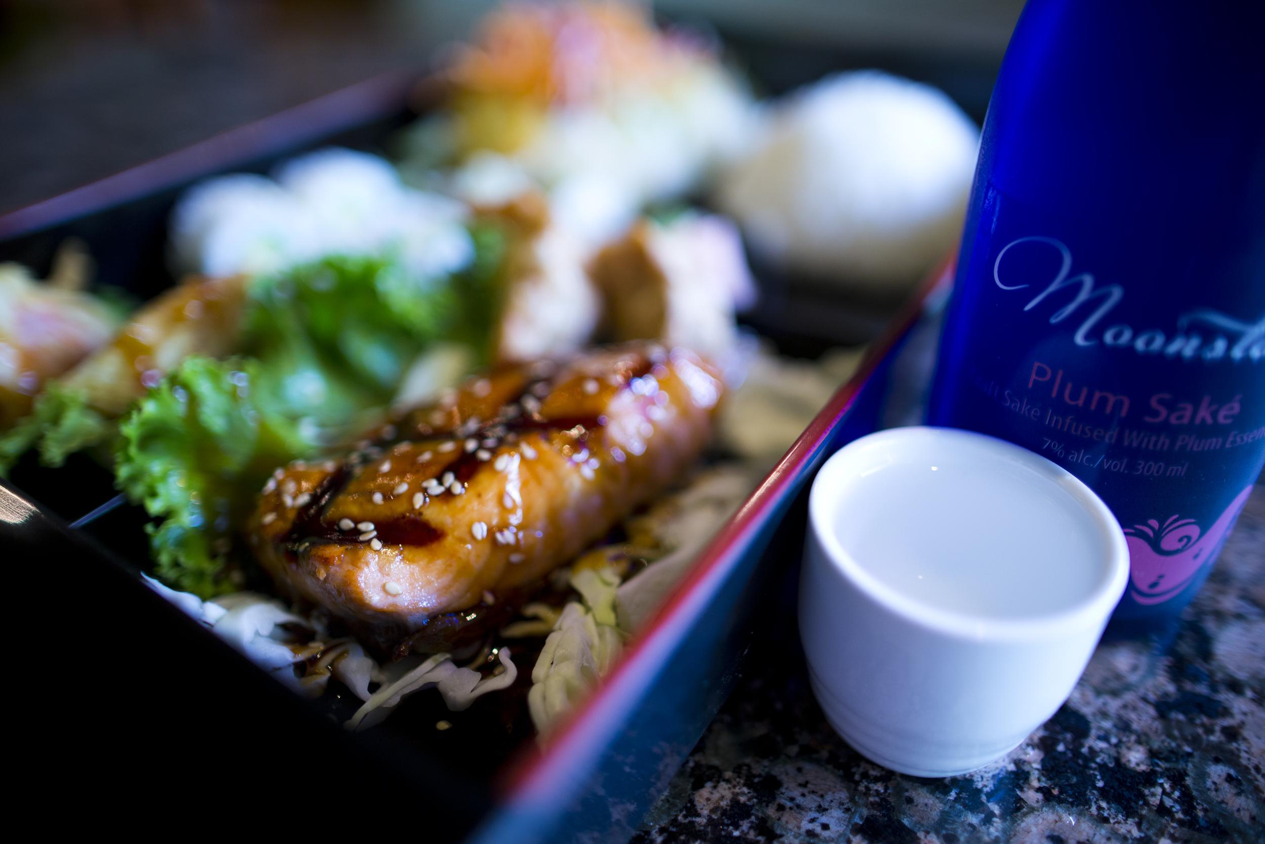 Salmon Kabuki Special