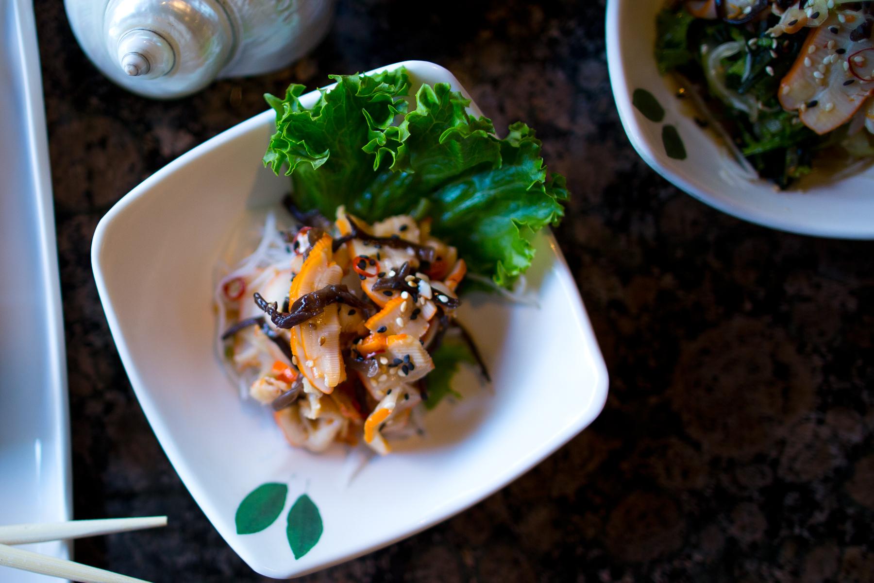 Ika (Squid) Salad