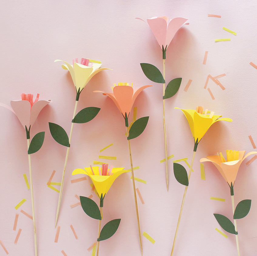 Paper Flowers by  Sarah Louise Matthews