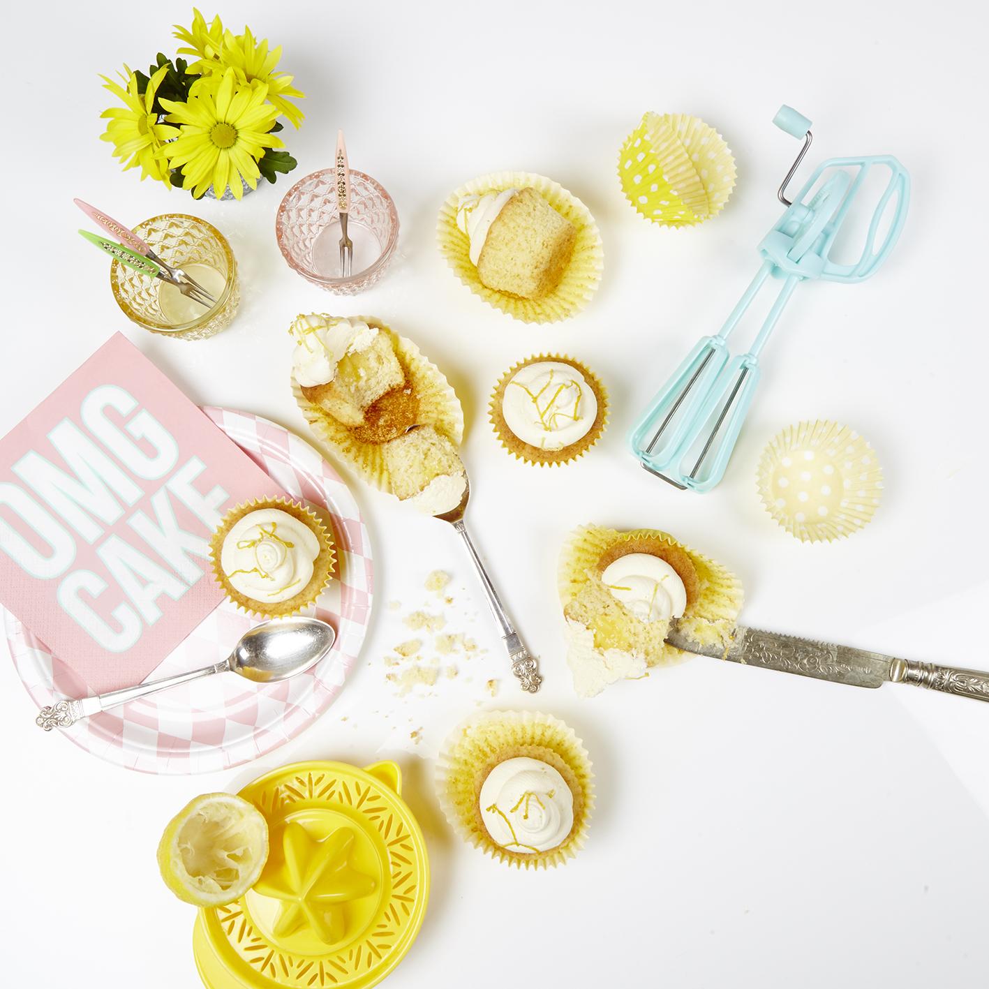Lemon Meringue Cupcakes by Terri Bakes