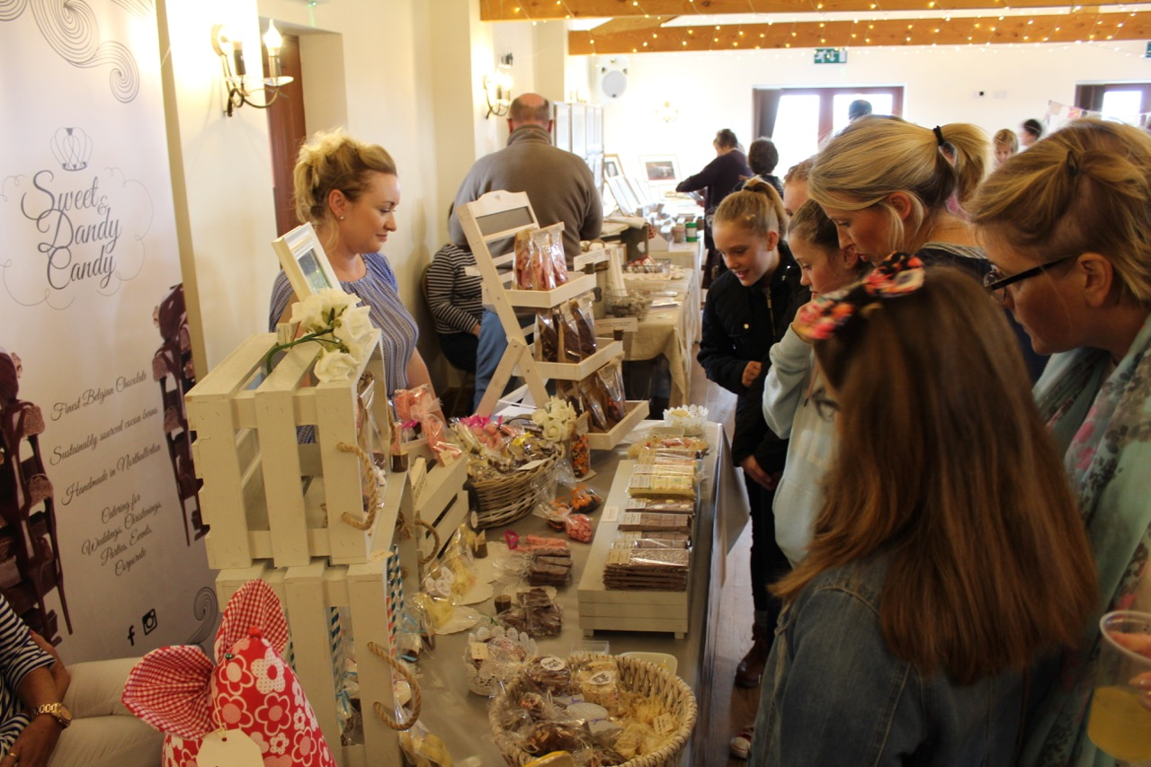 Northallerton based Sweet and Dandy Candy at a busy and bustling Market at Thief Hall.jpg