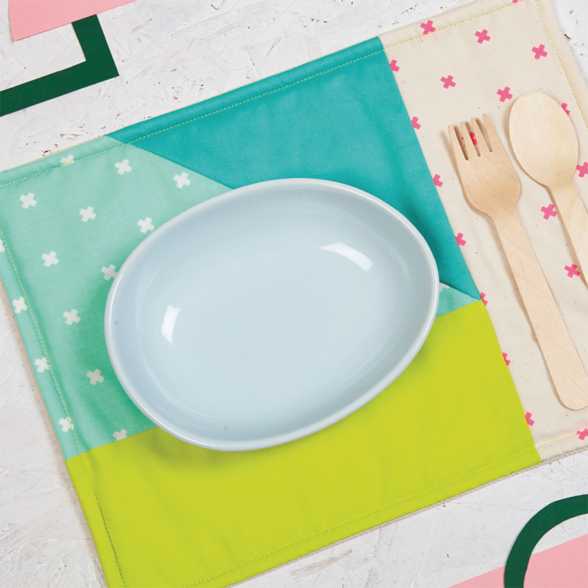 Patchwork Placemats Template by  Anna Alicia