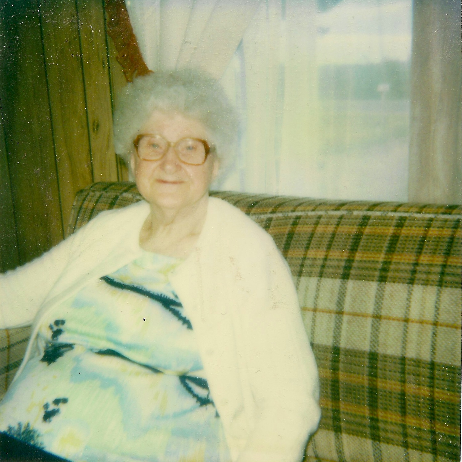 One of the first portraits I ever took.  This photograph of my Great Grandmother, Manilla Belle Reynolds Shorey, was taken in 1984 with a Polaroid camera when I was 8 years old.