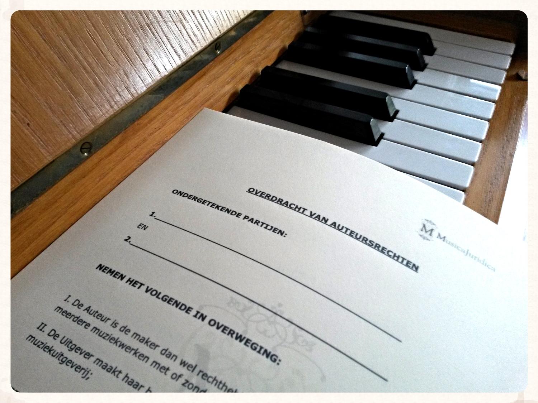 Muziekauteursrechten Componist | Muziekrecht