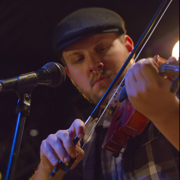 BRIAN FINK, FIDDLE, VOCALS