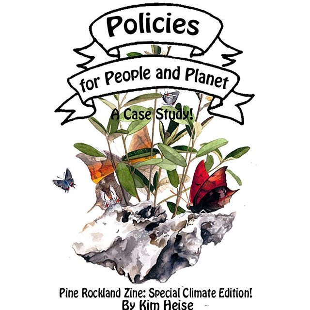 Happy Earth Day! This special edition of Pine Rockland Zine can be read online on my website! it's about climate change in the Pine Rocklands, and the South Florida Climate Compact. (Bet you didn't know we had a comprehensive climate policy guide for our elected officials here in SoFla?) . This is also my contribution to the Zebra Cat Zebra zines subscription, which can be found @carolynswiszcz (sign up if you want to get a hard copy of this and other zines mailed bi-monthly) thank you for this opportunity ZCZ!! (ZCZ was inspiration for Pine Rockland Zine, they are awesome!!!) #saveitdontpaveit