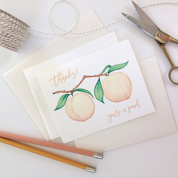 5 | Say Thanks - Even now, nothing beats a personal 'thank you' card. Include a sweet note thanking your guests for coming to celebrate with you, while also including any details they may need to know such as transportation or other events that weekend they are invited to attend. If you want to encourage them to visit your favorite brunch spot or take stroll around a scenic park close by, let them know!
