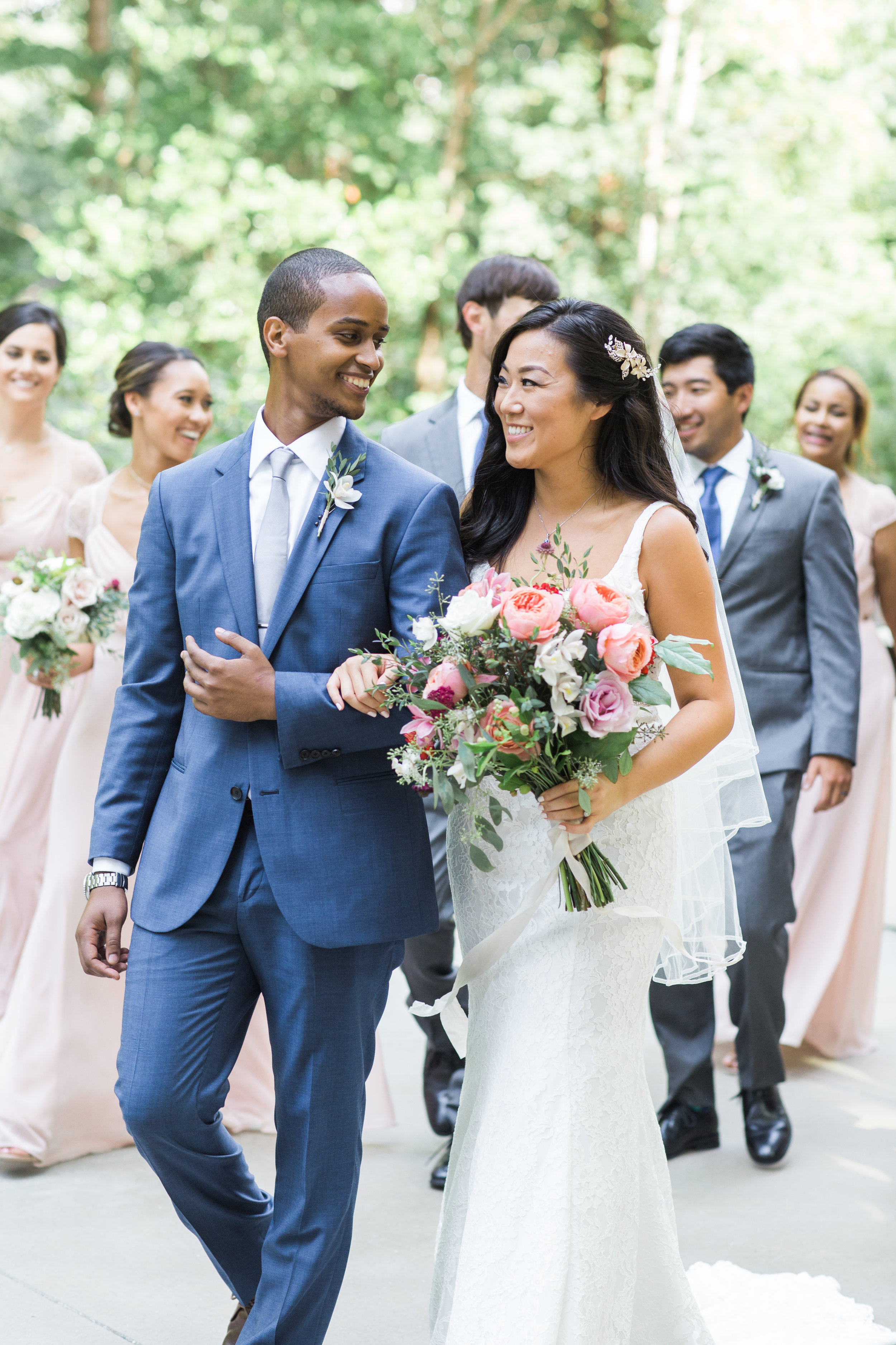 Wenjie + Futhum - Featured on Southern Weddings