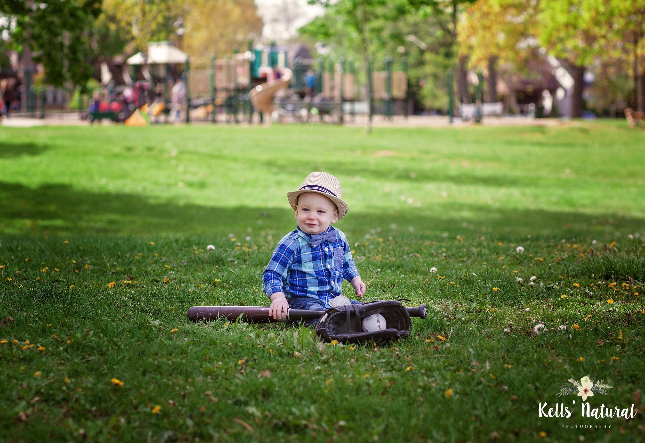 Little Baseball Player Photo