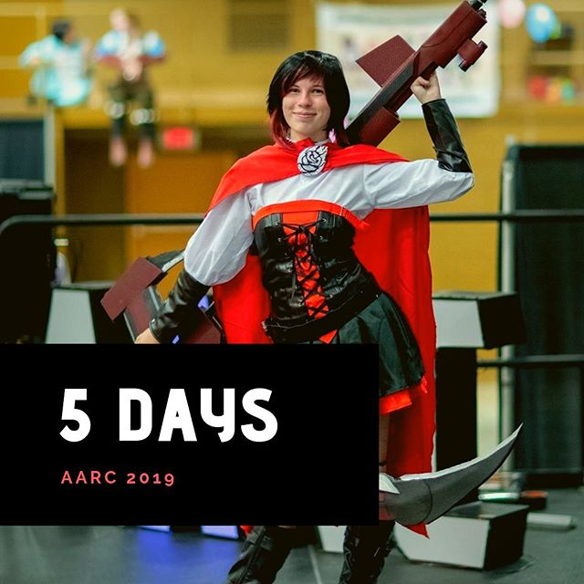 We're just 5 days away from AARC 2019!!! 🎉 If you're an artist, cosplayer, or vendor, this can be a somewhat stressful time (#concrunch anyone?). We just wanted to send everyone encouragement that you can do this, you're enough, and it'll be worth it! 💯 We can't wait to see what you've accomplished this weekend. Tag a friend below to send them encouragement.  _________________ #aarc #aarc2019 #828isgreat #keepashevilleweird #ashevilleanimeregionalconvention #romanticasheville #loveasheville #visitasheville #localasheville #ashevillelocal #riverartsdistrict #animecon #cosplay #artgrind #cosplaygrind