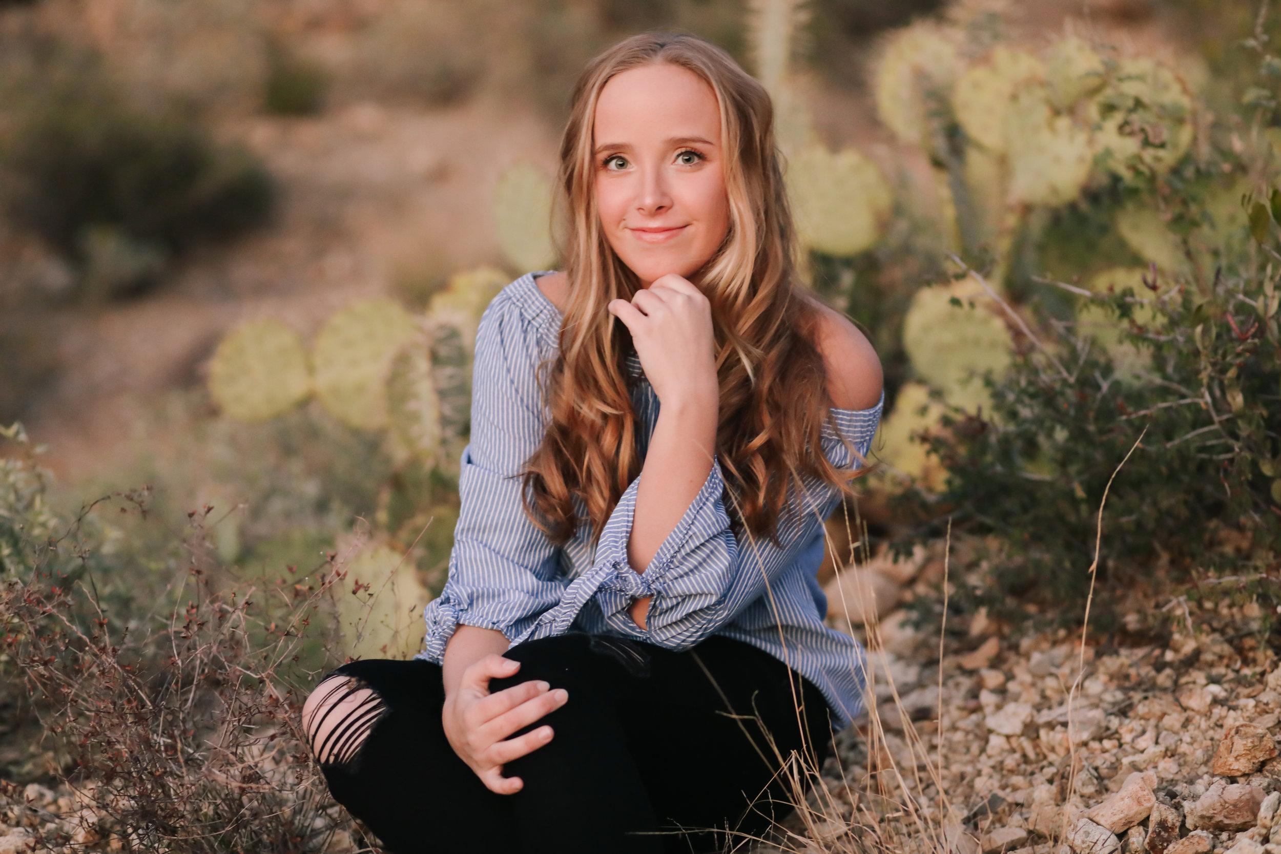 Seniors- Tiffany Hudson