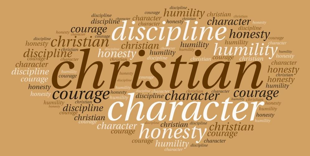 I - Christian Character (Medium Length)