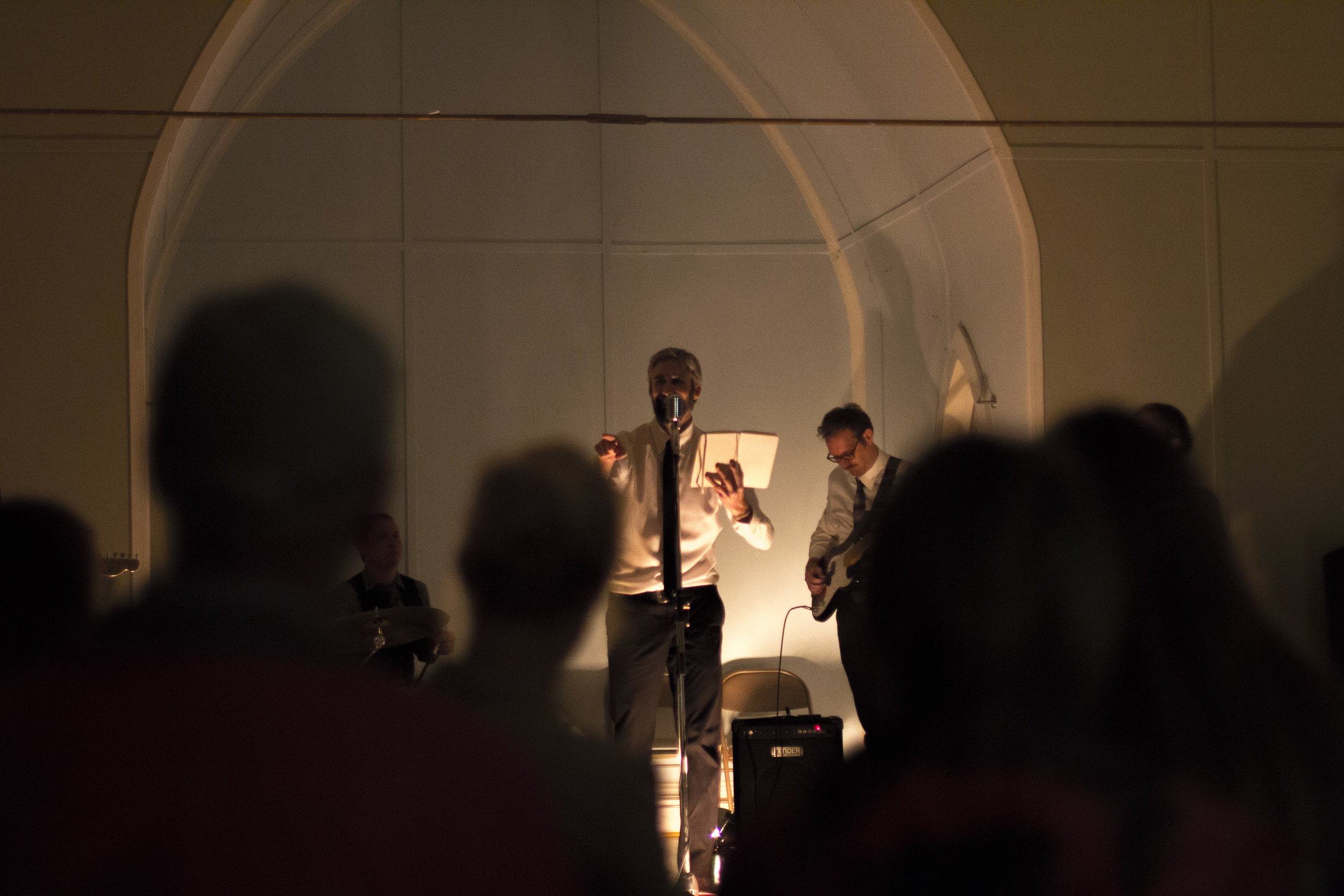 Eric Mullis, Jeremy Fisher. Odd Fellows Hall (Blacksburg, VA) on 10/13/18.