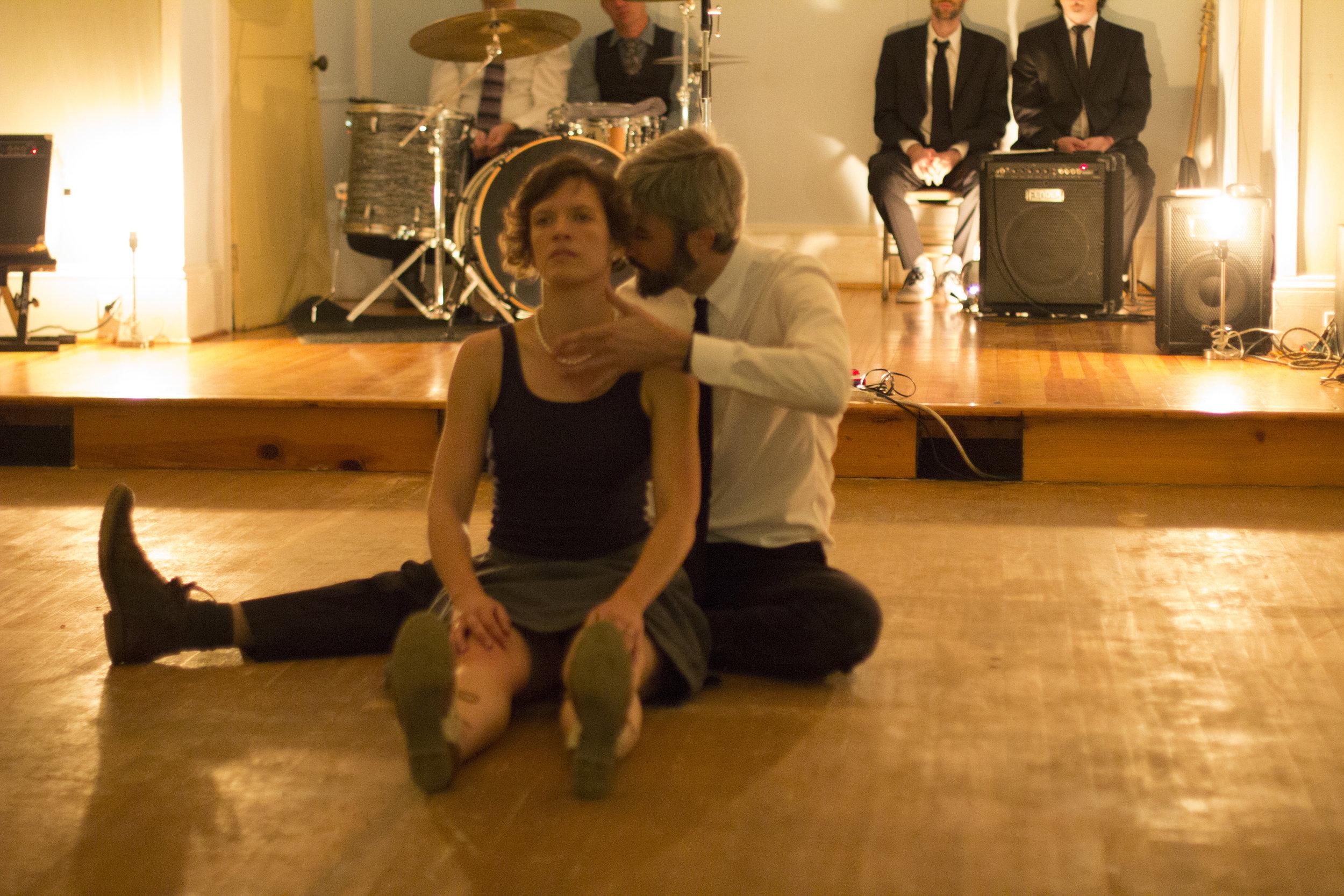 Rachel Rugh, Eric Mullis. Odd Fellows Hall (Blacksburg, VA) on 10/13/18.